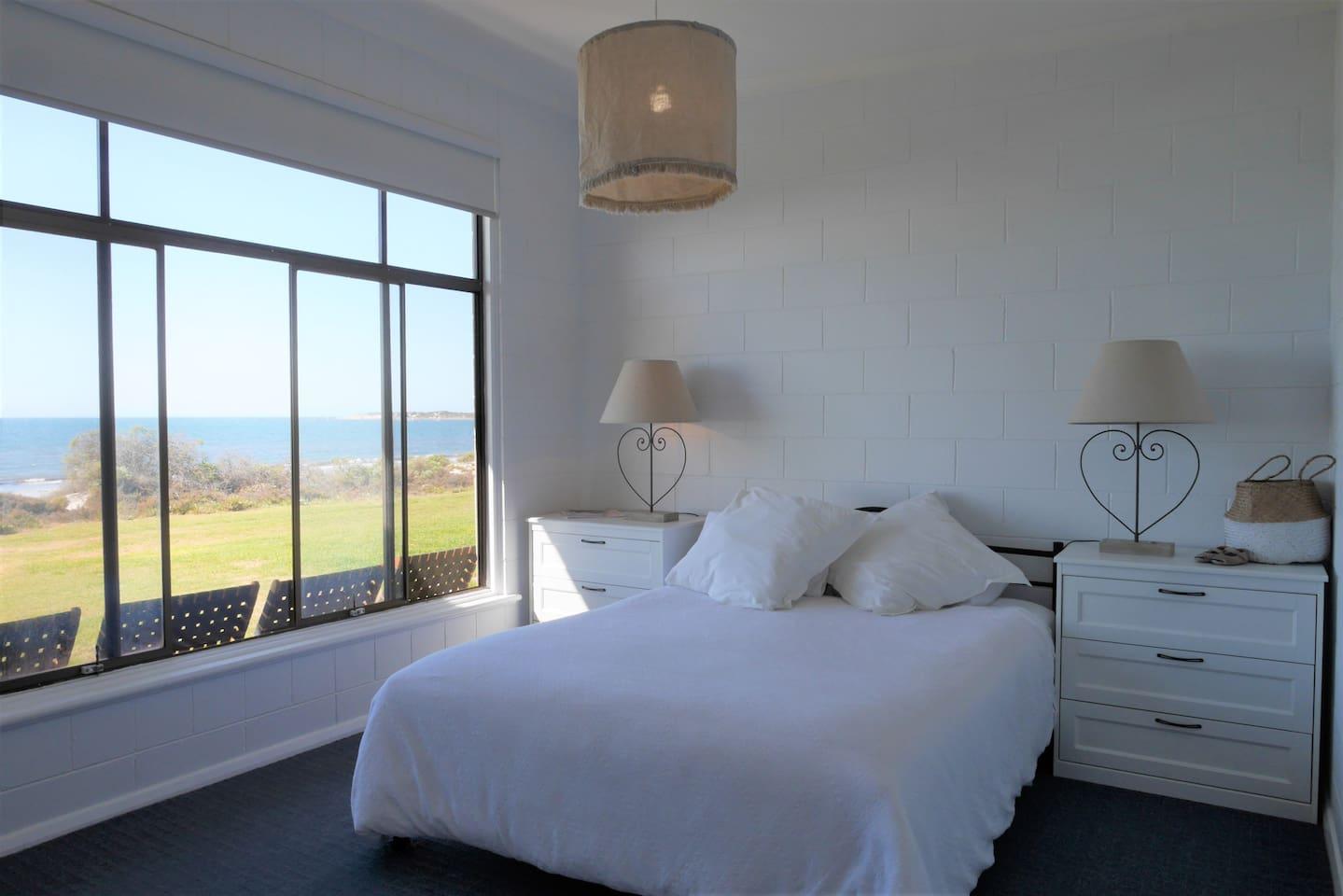 Front bedroom Beautiful sea views