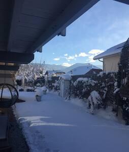 Open space  tout confort idéal pour journée ski - Thyez - Hus