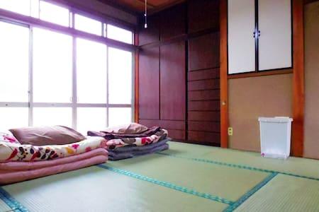 Big share house. Lets find international friends! - Minami-ku, Kyōto-shi - Huis
