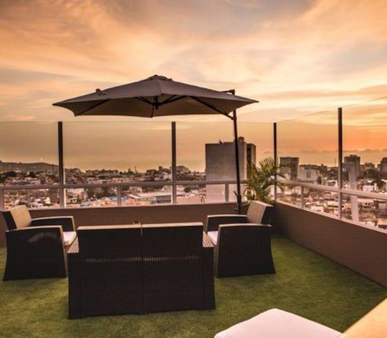 Zona Lounge del Edificio (Según disponibilidad )