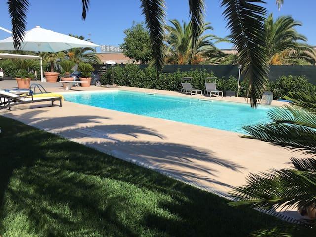 Appartamento  in villa con accesso piscina