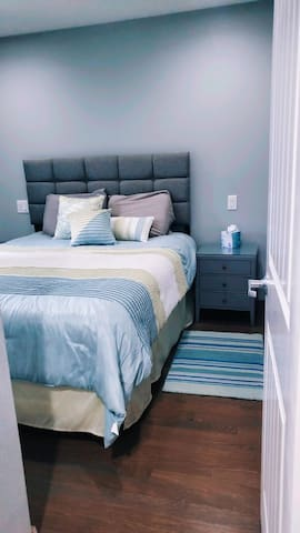 Bedroom #1 (with a porta crib located in closet)