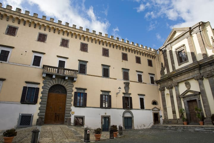 Apartments in dreamy castle - Viterbo