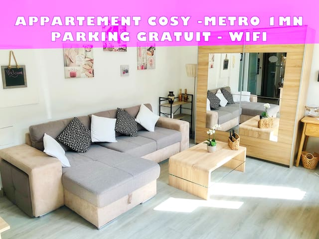 All comfort apartment for friends or family