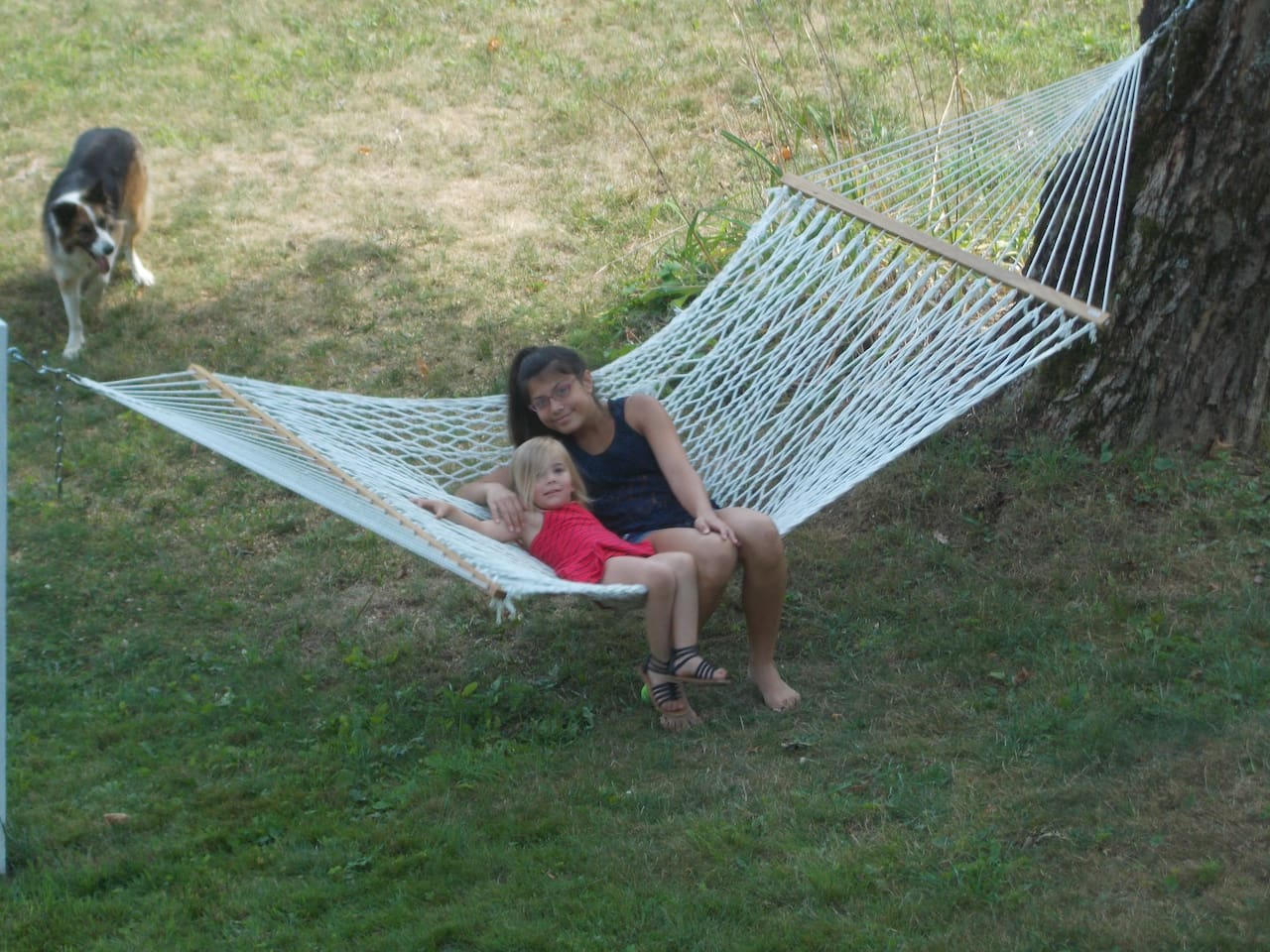 Relax on the hammock.