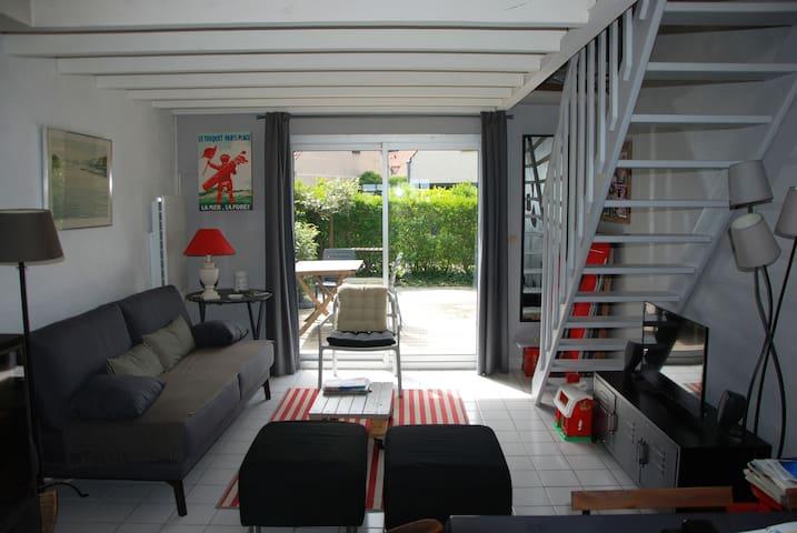 LE TOUQUET secteur Hippodrome maison 3 chambres