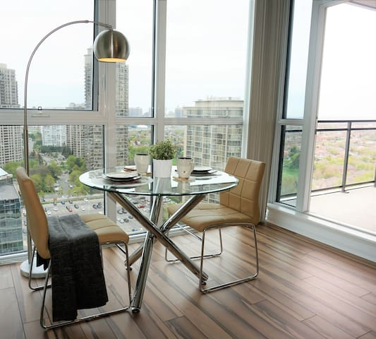 Fabulous view + central location
