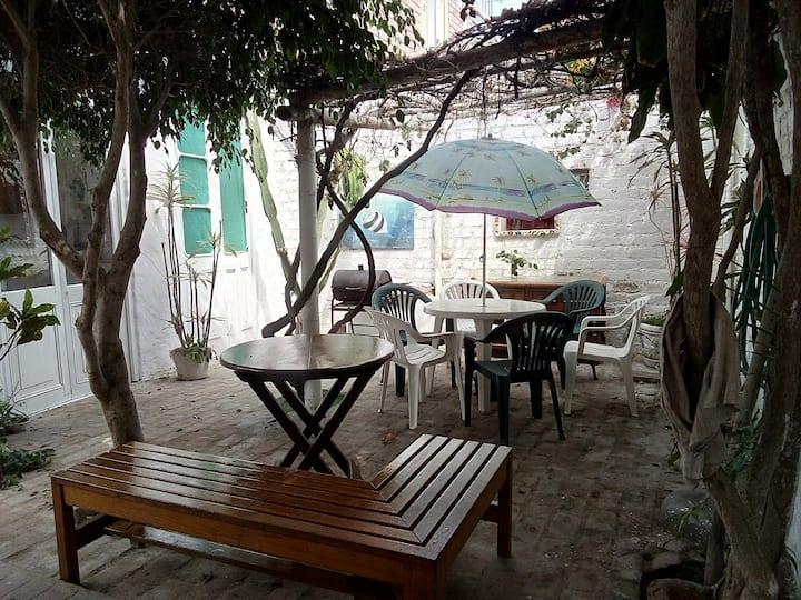 Acogedora casa rústica en Playa El Silencio