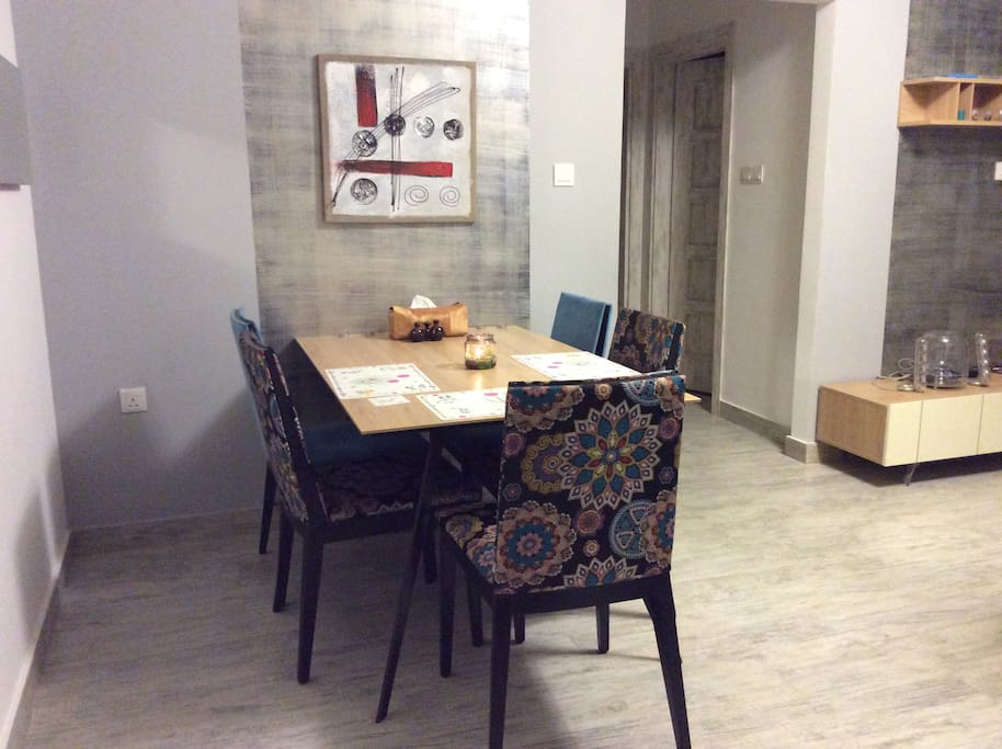 Dining Table in Hall