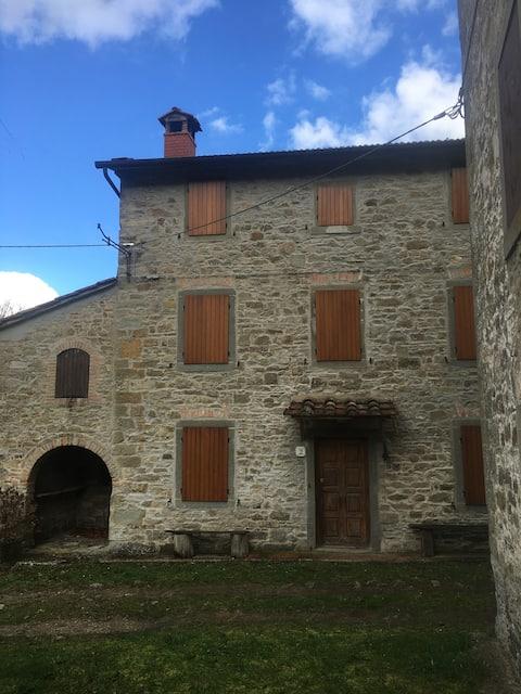 Ancient farmhouse in Vallesanta-Casentino-AR