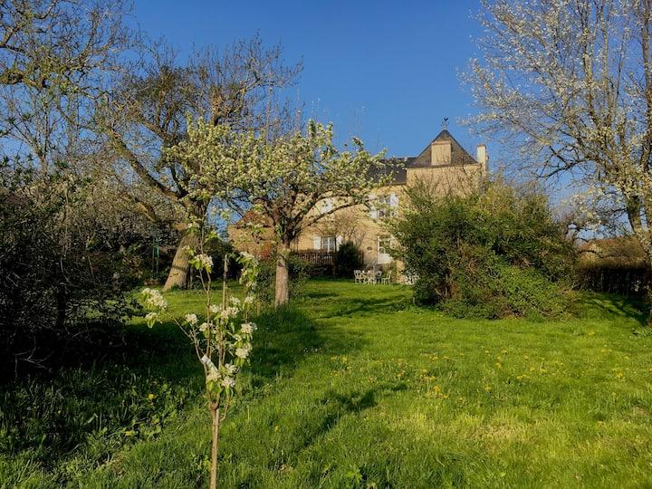 maison de maître en Bourgogne / big burgundy house
