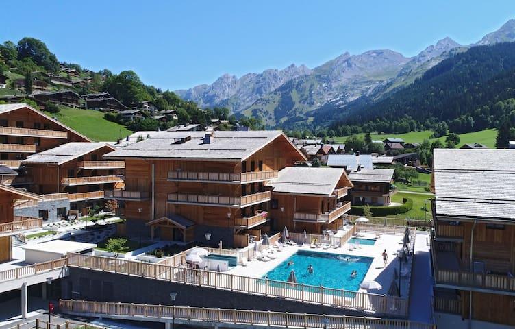 Appartement de Montagne | Accès Piscine Extérieure, Salle de Jeux et bien plus!