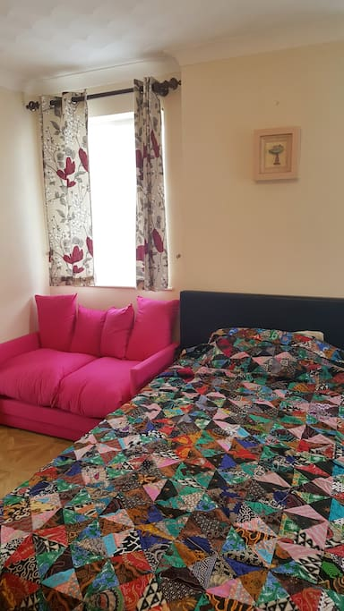 Sofa bed and King size bed