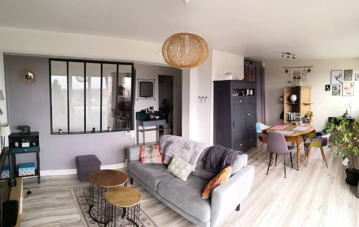 Appartement spacieux proche de Bourg en bresse