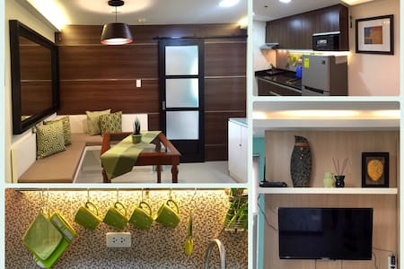 City Center: 1BR Scandinavian Flat with balcony - 馬尼拉
