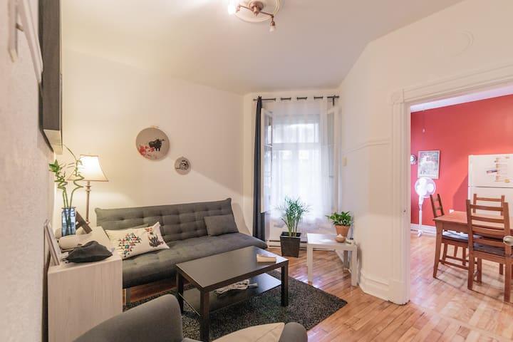 Appartement au coeur du village gay - Montréal - Apartment