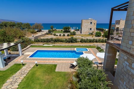 Walk to beach! Luxury and Serenity, Seaside Home - Chania