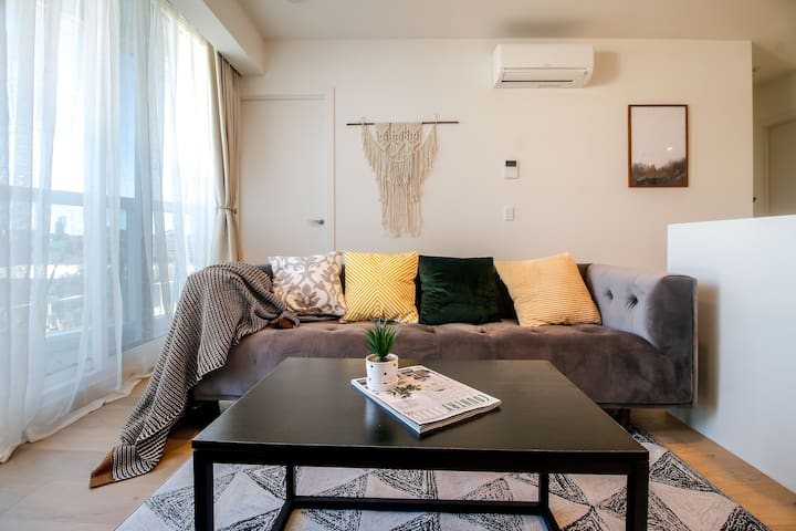「no.1」New apartment/2 bedrooms/for 2-4people/CBD