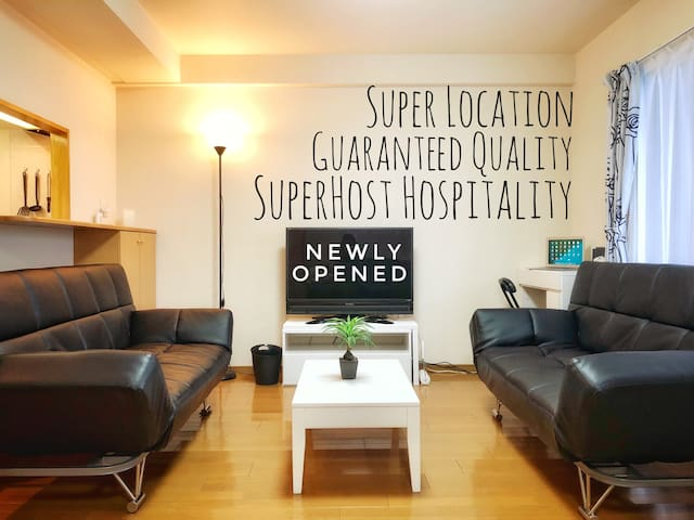 Superhost's New Room in Super Location☆