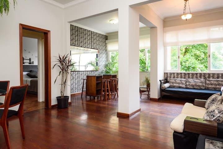 Box Single Room in Ipanema/Wifi - Rio de Janeiro - Apartment
