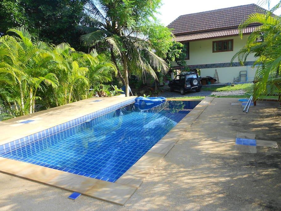 Your pool awaiting