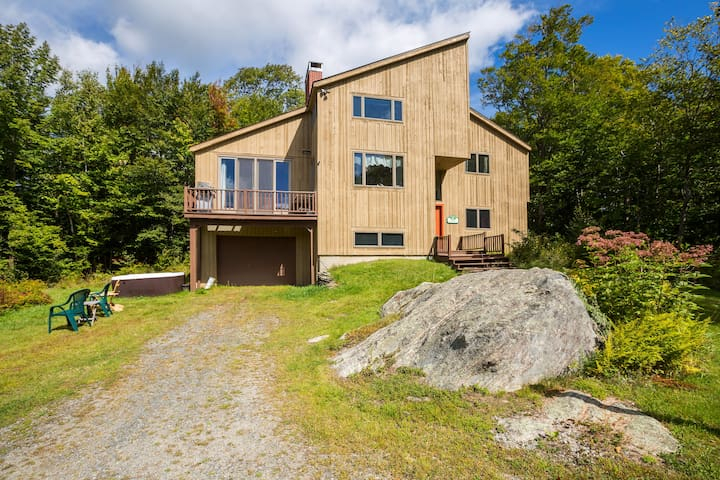 Vermont Mt. House, Close to Stratton + Bromley