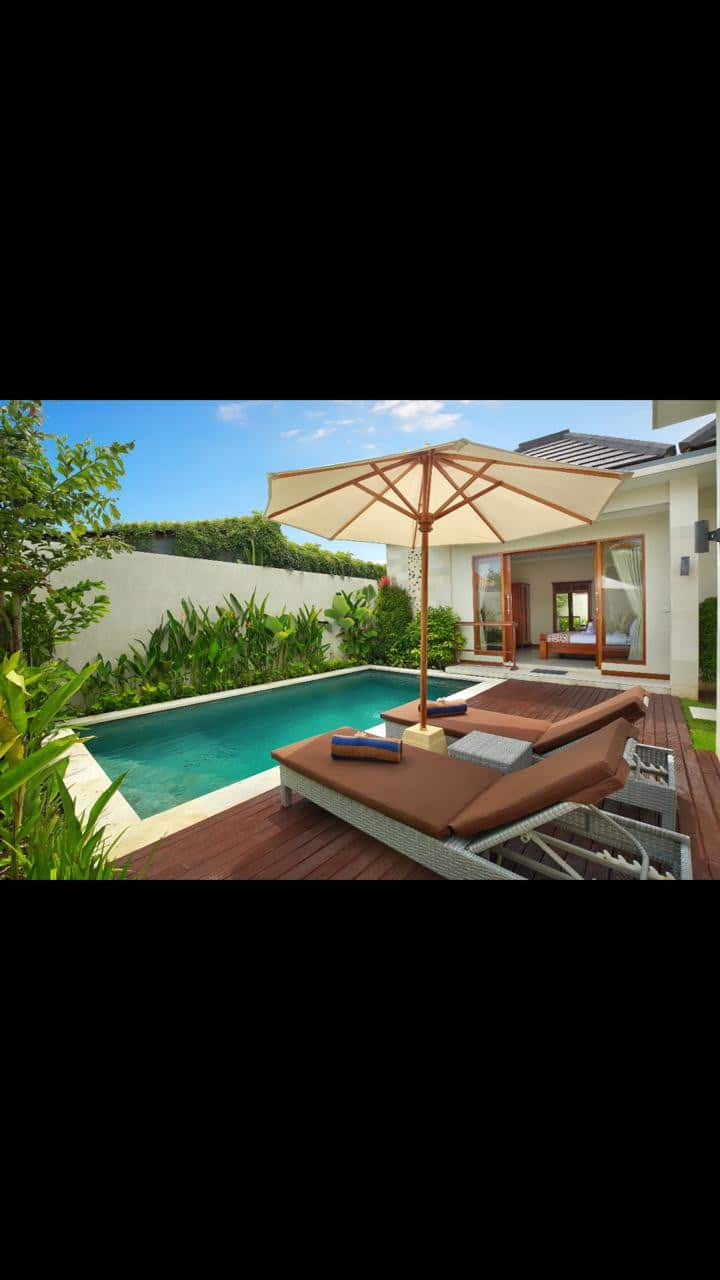 2BR- villa cahaya  seminyak Privat Pool