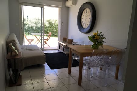 Nice apartment - 1 bedroom with garden - Leilighet