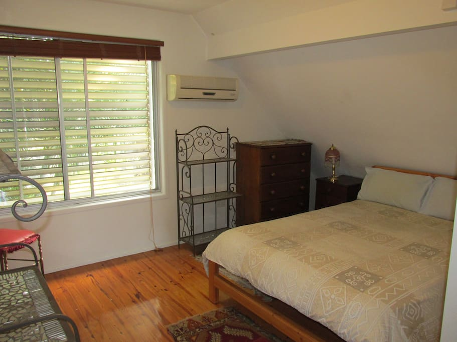 Guests Bedroom with aircon