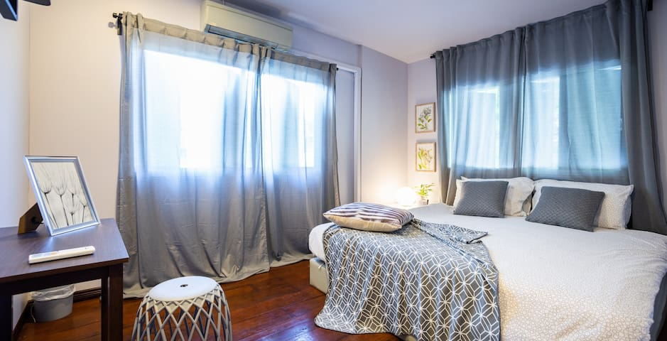 Cozy and clean bedroom for2 pax