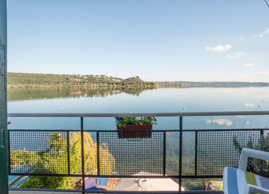 Vista Balcone sul lago
