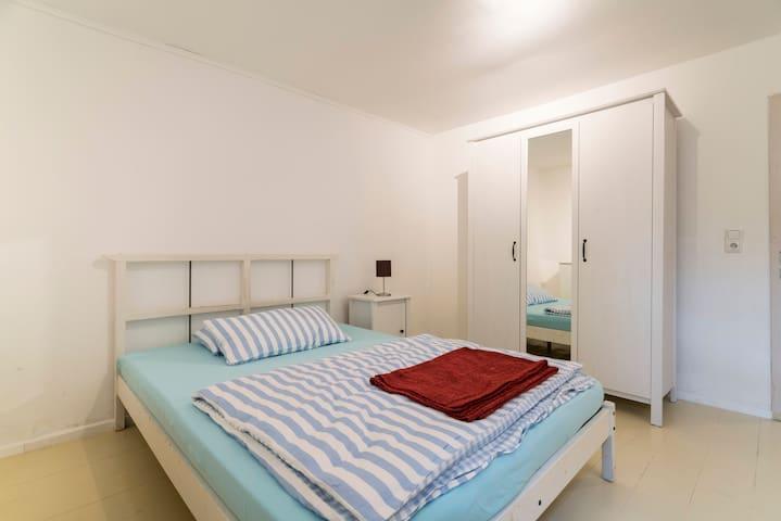 Zentrale gemütliche 1 Zi. Wohnung - Brühl - Apartemen