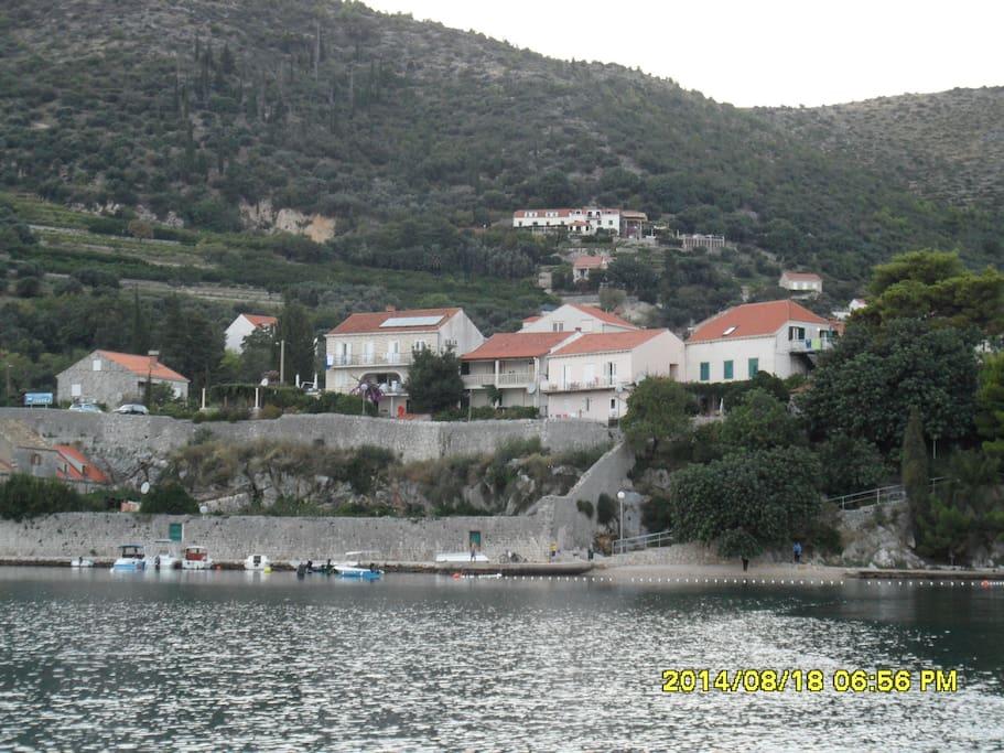 kuća i plaža