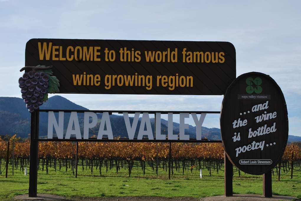 Welcome to the Napa Valley