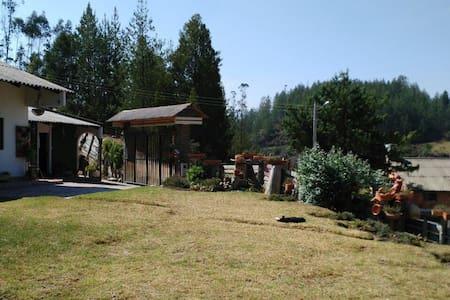Paipa- Boyacá --: Habitación y Baño - Paipa