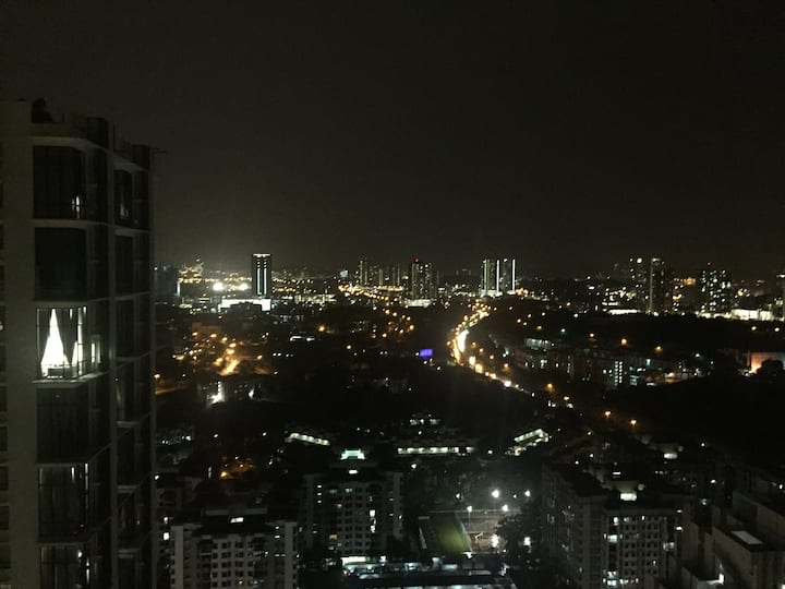 Putrajaya View On Cyberjaya's Rooftop Beach Pool