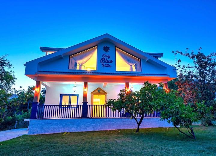 Only Blue Villa - Kahvaltı Dahil Kiralık Villa
