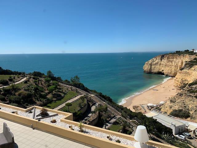 Algarve Espectacular T1 em cima da praia