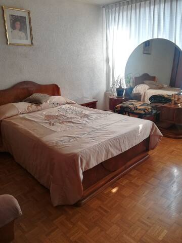 Hermosa habitación al sur de la ciudad de México