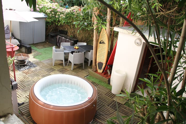 Appart terrasse jacuzzi Biarritz HYPERCENTRE