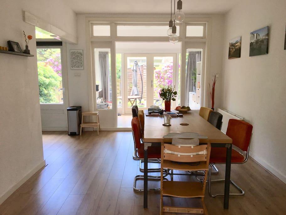 Livingroom and serre