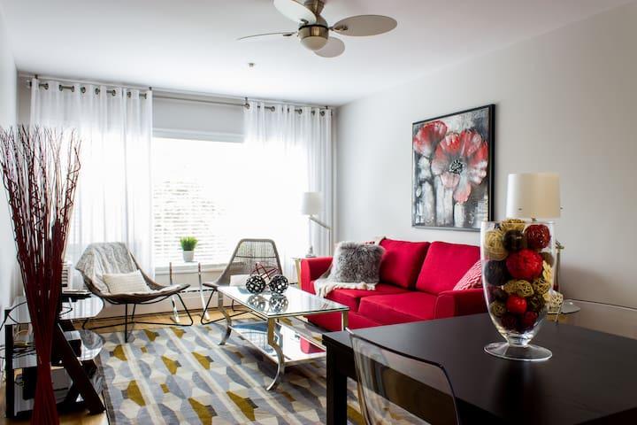 Modern, open concept, 1BD-Central Halifax Apt. - Halifax - Apartament