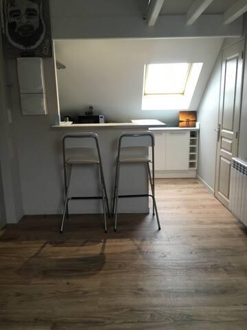 Beau studio cosy, rénover en 2017 - Cauen - Pis