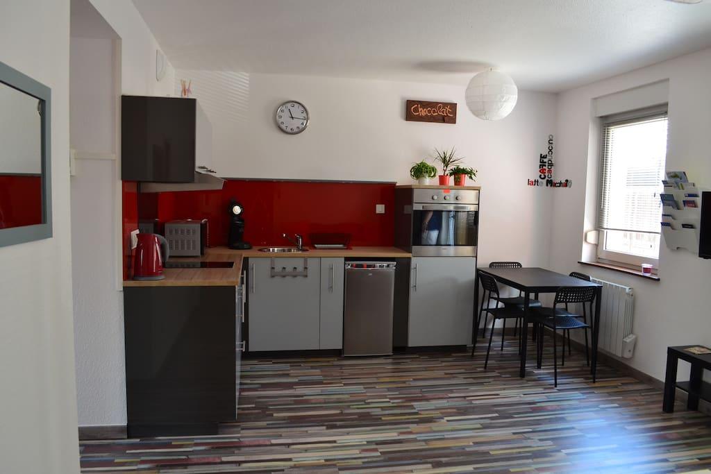 petit nid dans un coin d 39 alsace appartements louer rouffach alsace champagne ardenne. Black Bedroom Furniture Sets. Home Design Ideas
