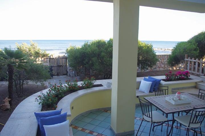 Villa Singola sulla Spiaggia