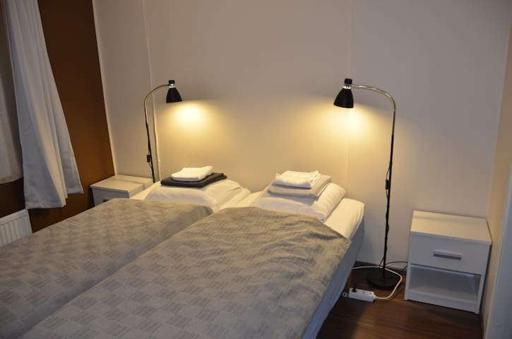 2х-комнатные апартаменты с кухней и ванной