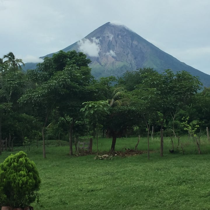 Ometepe Bungalow with views to die for!