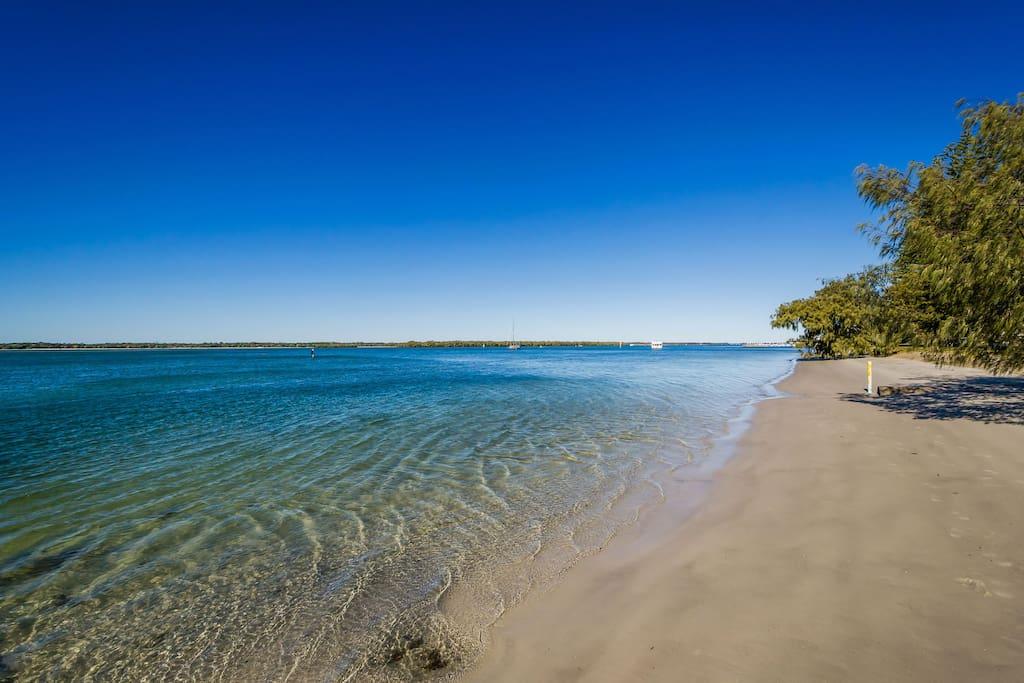 Closest beach - around 30 seconds walk!
