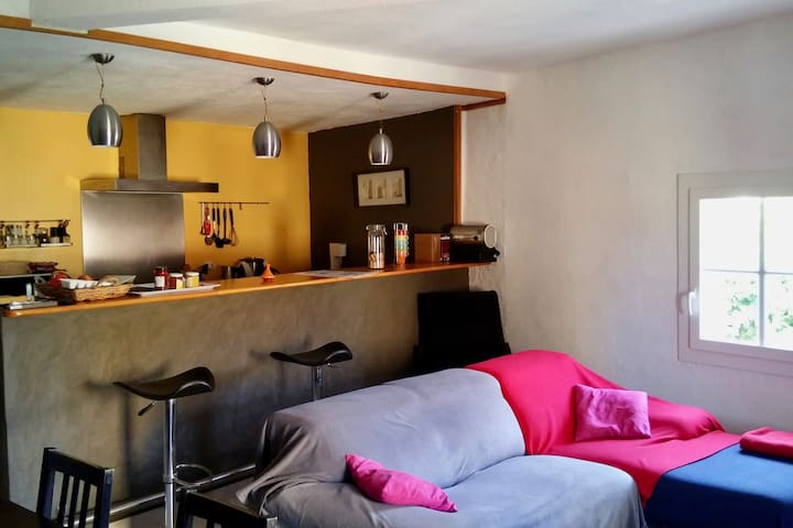 Joli appartement 80m² au cœur de l'Hérault