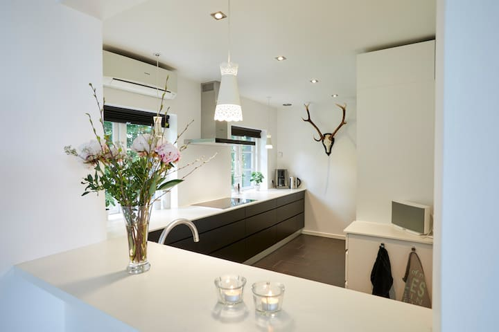 Big and modern kitchen with everything you need.